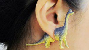 ร้านค้าออนไลน์ ไอเดียเก๋ผลิต ต่างหูไดโนเสาร์ เอาใจสาวกจูราสสิค