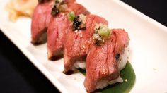 เนื้อซานุกิ วากิว จากญี่ปุ่น ที่ห้องอาหารญี่ปุ่นชินทาโร่ โรงแรมอนันตรา สยาม กรุงเทพฯ