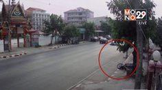 เร่งหาสาเหตุสายเคเบิ้ลมรณะ เกี่ยวคอสาวขับรถจยย. เสียชีวิต