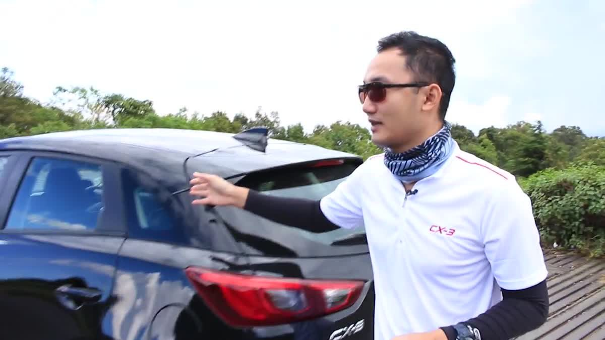 [Test Drive] Mazda CX-3 Skyactiv-G 2.0 SP ครอสโอเวอร์ตัวแรง ประหยัดแถมไฮเทค
