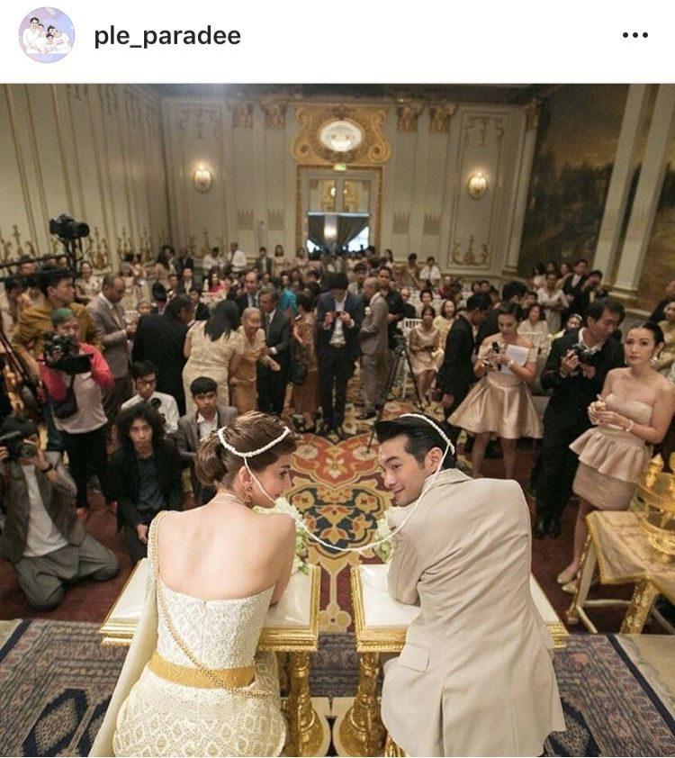 วันแต่งงาน เปิ้ล-นิว