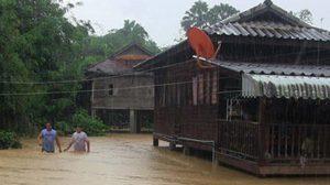 ฝนถล่ม! สงขลา น้ำป่าหลากสะพานถนน-หมู่บ้านถูกตัดขาด