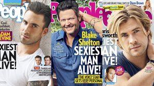 จัดอันดับ หนุ่มเซ็กซี่แห่งปี ตั้งแต่ปี 1990 – 2017 โดยนิตยสาร People Magazine