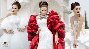 หญิง-รฐา สร้างเซอร์ไพรส์ ในลุคชุดแต่งงานสุดหรู รับเดือนวาเลนไทน์