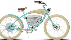 จักรยาน Vintage Electric Cruz E-Bike  จักรยานไฟฟ้าแบบล้ำๆ