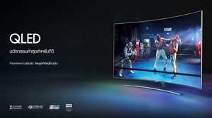 Samsung QLED TV สวยสง่าในทุกมุมมอง ให้มีไลฟ์สไตล์ล้ำกว่าใคร ด้วยดีไซน์สวยงาม