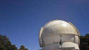 สดร. เผยภาพฝนดาวตกเจมินิดส์ที่หอดูดาวแห่งชาติ