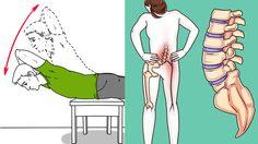 6 ท่าบริหารง่ายๆ บำบัดกระดูกสันหลังของคุณ ก่อนที่จะสายเกินไป!!