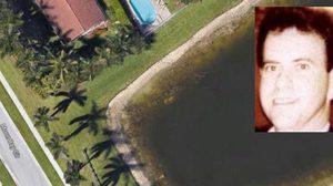 """ภาพจาก """"กูเกิล เอิร์ธ"""" ช่วยปิดคดี คนหาย 22 ปี รถเก๋งจมใต้น้ำ"""