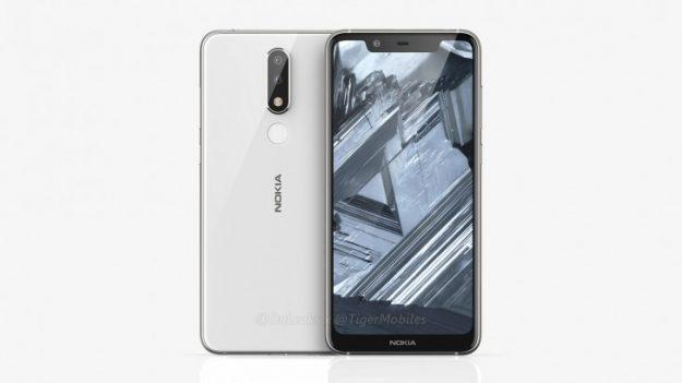 ภาพเรนเดอร์ Nokia x5 ก่อนหน้านี้