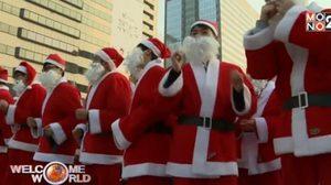 กองทัพซานต้ากว่าพันคน! เตรียมของขวัญให้เด็กด้อยโอกาส