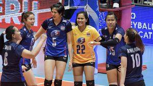 ลูกยางสาวไทย ดับ เปอร์โตริโก 3-1 ส่งท้ายคัดโอลิมปิก ลุ้นตั๋วแชมป์เอเชีย