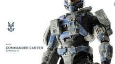 ThreeA ส่งแอ๊คชั่นฟิกเกอร์โมเดล HALO : Commander Carter Spatn-lll