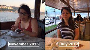 สาวเปลี่ยนนิสัยแย่ๆ แล้วหันมาดูแลตัวเอง น้ำหนักลด 13 โล จนสวยปิ๊ง!