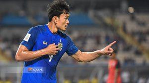 แข้งไทยคนแรก! 'อดิศักดิ์' จารึกชื่ออันดับ 2 อาเซียนยิงประตูเยอะสุดหนึ่งเกม