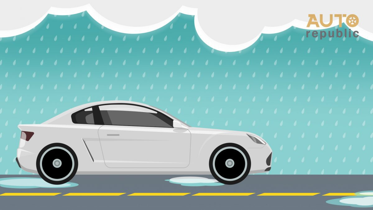 เช็ค 4 เคล็ดลับกับการขับรถลุยฝน