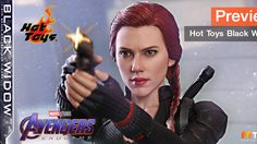 Preview Hot Toys 1/6 Black Widow The Avengers: Endgame