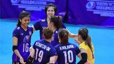 ลูกยางสาวไทย ชนะ คาซัคสถาน 3-1 เซตเข้ารอบชิงชนะเลิศคัดโอลิมปิก