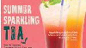 เดอะคอฟฟี่บีนแอนด์ทีลีฟ 2 เมนูพิเศษ SUMMER SPARKLING TEA