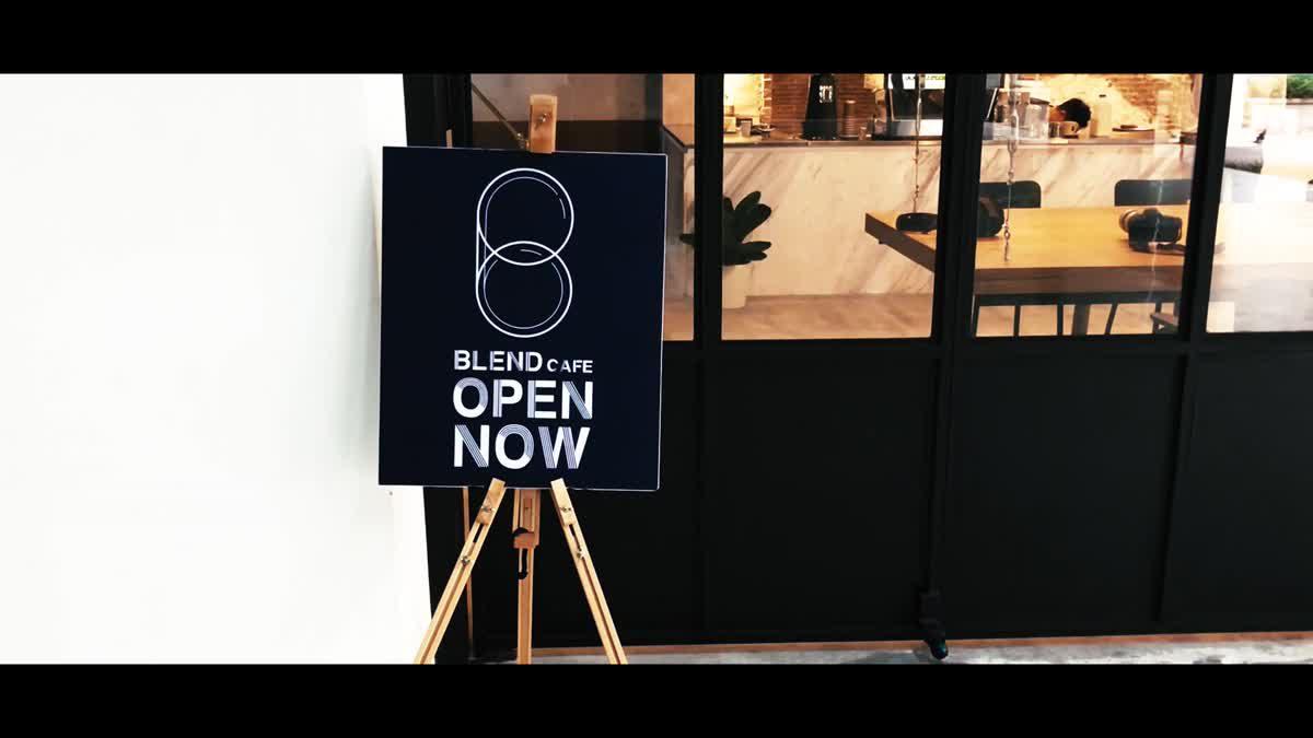 Blend Cafe ร้านไอเดียเก๋ประจำ ม.ธุรกิจบัณฑิตย์