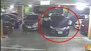 หนุ่มเก๋งดำ ตั้งใจถอยรถชนคันอื่นที่จอดก่อน เพื่อเข้าจอดแทนที่