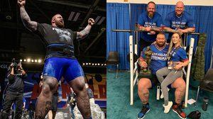 ทุบสถิติตัวเอง The Mountain ยกน้ำหนัก 474 กิโลกรัม คว้าแชมป์ Arnold Strongman
