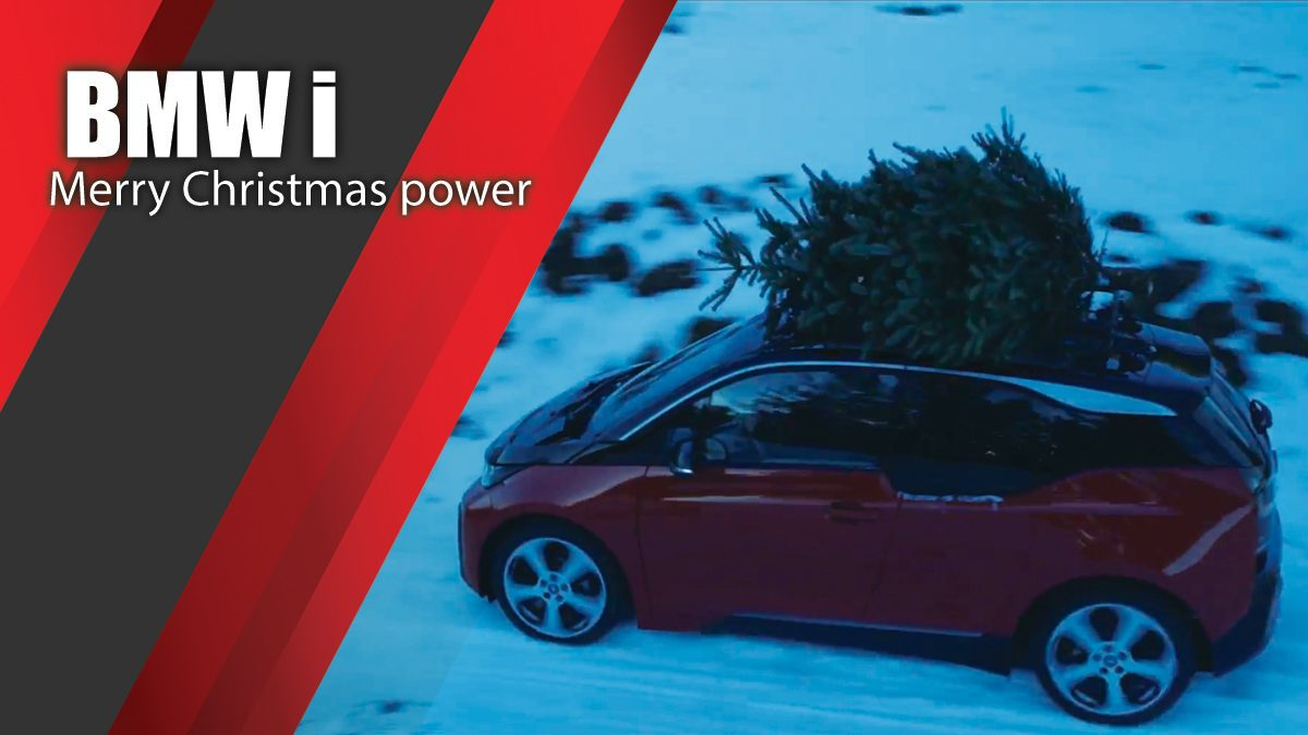 Merry Christmas powered by BMW i