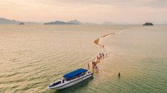 ที่เที่ยว Unseen แห่งใหม่ ทะเลแหวกแนวสันหลังมังกร ที่ เกาะพลอง