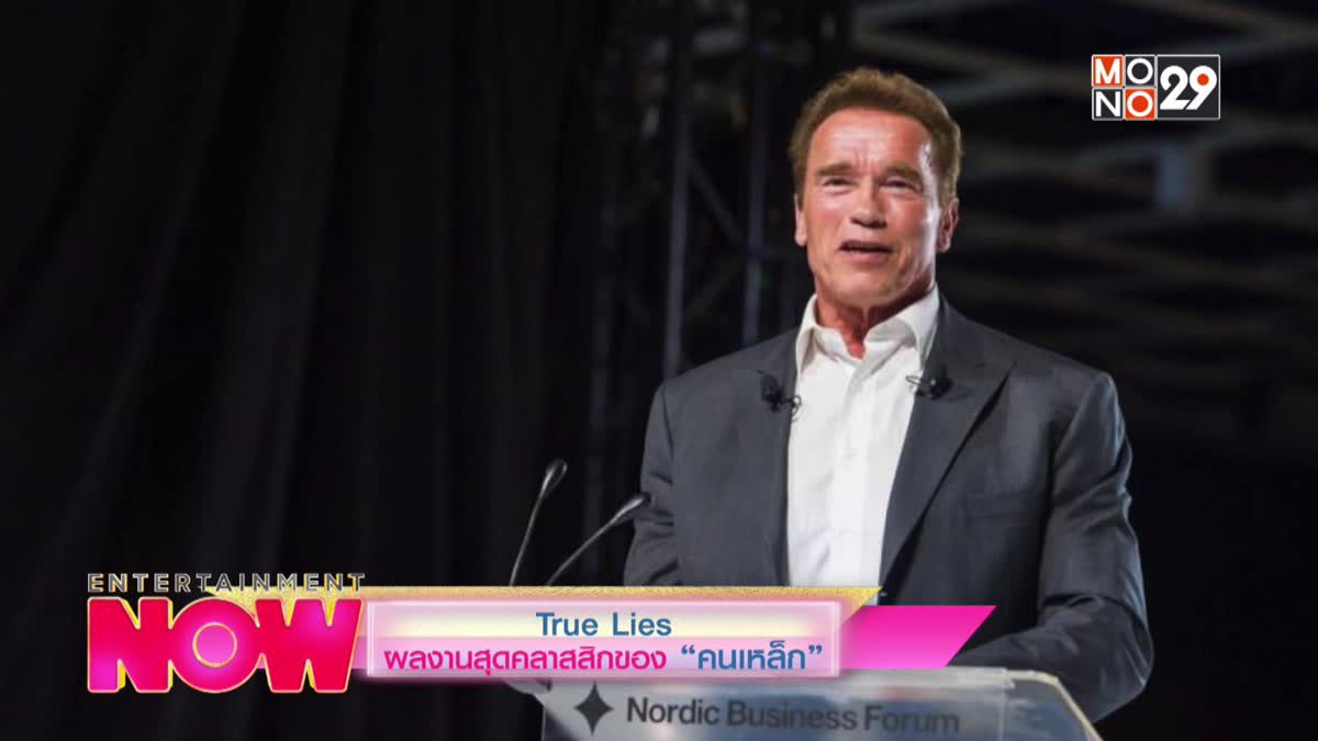 """ผลงานสุดคลาสสิกของ """"คนเหล็ก"""" True Lies"""