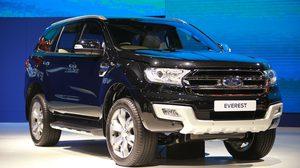 Ford Everest และ Ford ranger คว้ารางวัลคุณภาพรถใหม่ IQS จากเจ.ดี. พาวเวอร์
