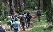 เร่งค้นหาเด็กชาวซาไกหายในป่าจ.สตูล