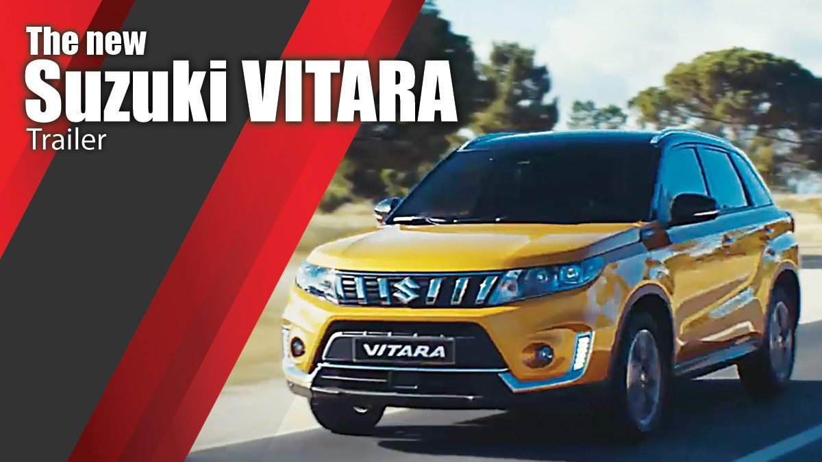 The new Suzuki VITARA Trailer