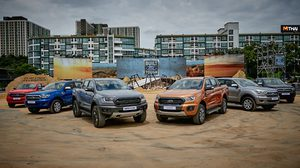 Ford Ranger สร้างสถิติยอดขายปี 2561 ทั่วเอเชีย แปซิฟิก สูงสุดเป็นประวัติการณ์