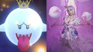 เมื่อผีน้อย King Boo จาก Mario ใส่มงกุฎ จะกลายเป็น เจ้าหญิงแบบไหนกันนะ