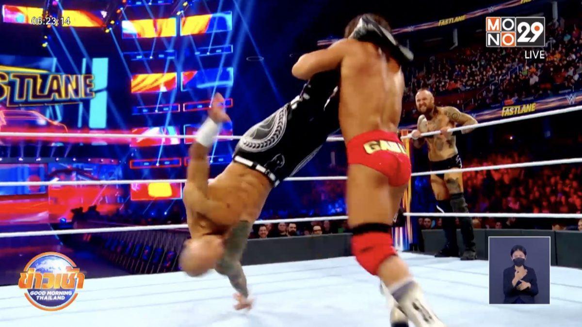 การถ่ายทอดสด ศึกมวยปล้ำ WWE รายการ Raw และรายการ SmackDown