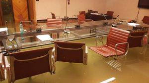 สภาเมืองเวนิสถูกน้ำท่วมทันทีหลังจากปฏิเสธมาตรการเปลี่ยนแปลงสภาพภูมิอากาศ