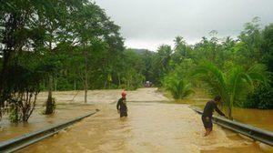 3 จังหวัดชายแดนใต้ ฝนตกหนักต่อเนื่อง เกิดอุทกภัยหลายจุด