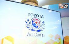 โตโยต้า สานต่อโครงการค่ายศิลปะเปิดโอกาสนักศึกษาร่วมพัฒนาบรรจุภัณฑ์สินค้าโอทอป