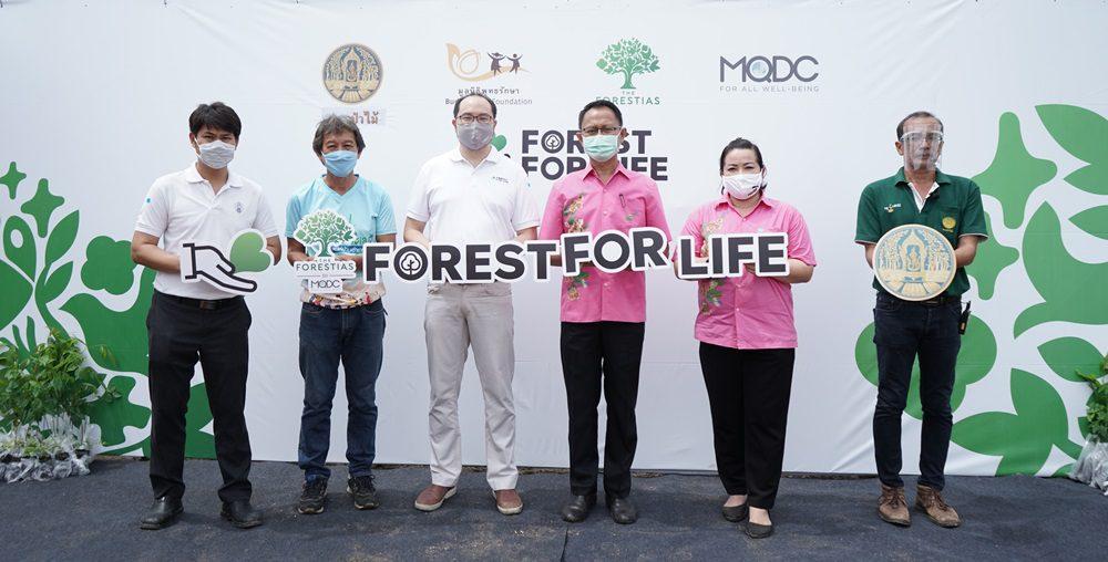 The Forestias by MQDC ทุ่มงบ 25 ล้าน เปิดโครงการ 'Forest for Life สร้างป่าสร้างชีวิต'