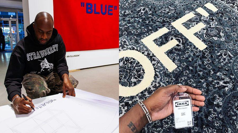 ของมันต้องมี!! พรม Virgil Abloh x IKEA เตรียมวางจำหน่ายในสหรัฐฯ ที่ราคา 16,000 บาท