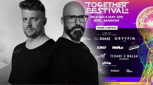 Together Festival 2019 เปิดตัว DJ Phase 3 ก่อนเจอกัน 3-4 พ.ค. นี้!!