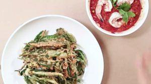 แจกสูตร ยำผักบุ้งกรอบกุ้งสด น้ำยำรสชาติเลิศ