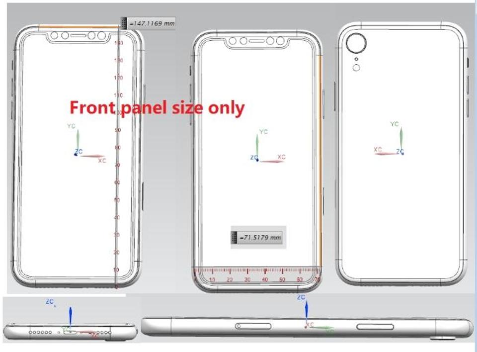 iPhone จอ LCD 6.1 นิ้ว