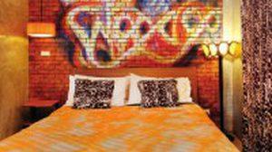 Graffiti & Retro ห้องนอนดิบ เท่แนวสตรีท