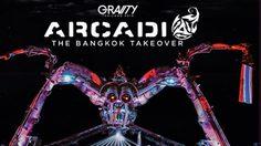 แมงมุมยักษ์พ่นไฟ กำลังจะกลับมา ARCADIA – THE BANGKOK TAKEOVER
