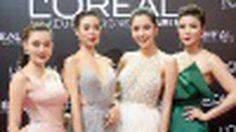 4 สาวแซ่บ ร่วม แฟชั่นพรมแดง ฉลองลุคสวยของ ซุปตาร์ ชมพู่ อารยา