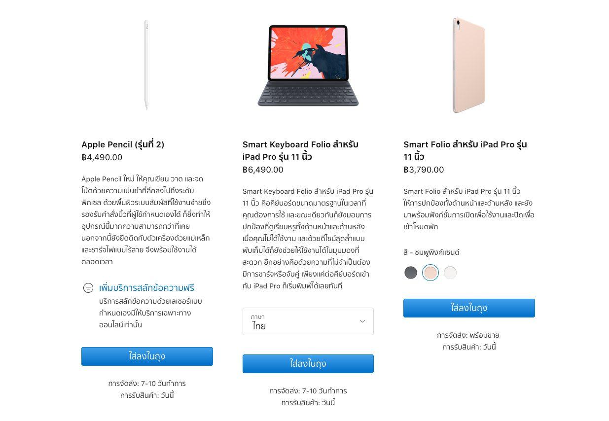acceseries iPad Pro