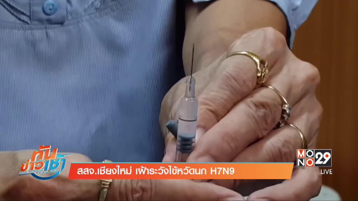 สสจ.เชียงใหม่ เฝ้าระวังไข้หวัดนก H7N9