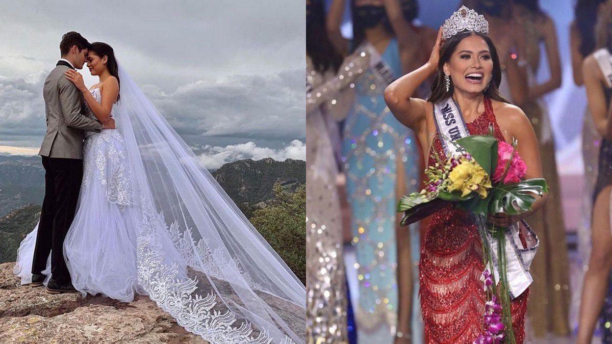 มงลงไม่ถึงชั่วโมงดราม่าแล้ว หลังมีภาพ มิสยูนิเวิร์สเม็กซิโก เคยผ่านการแต่งงาน