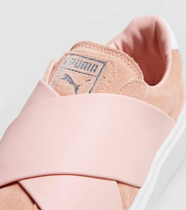 รองเท้าพูม่าสีชมพู PUMA Platform X Women's